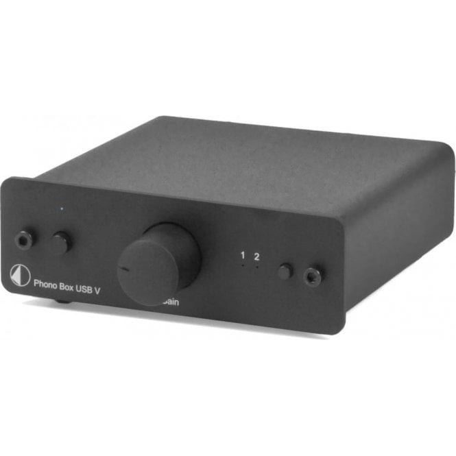 Pro-Ject (Project) Box Design Phono Box USB V MM/MC Phono Stage