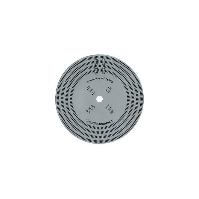 Audio-Technica AT6180 Stroboscopic Disc