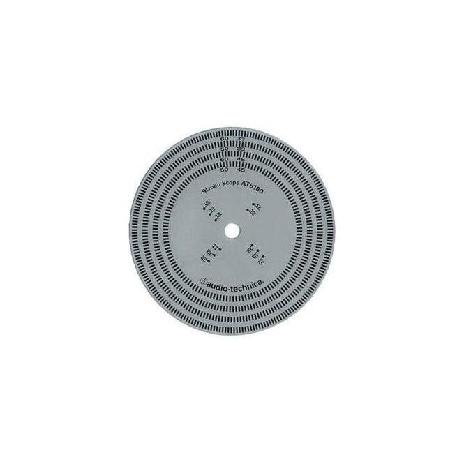 Audio-Technica AT6180 Stroboscopic Disc
