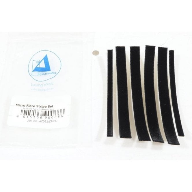 Clearaudio Microfibre Strip Set For Double Matrix Professional Sonic RCM