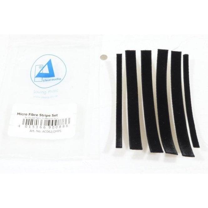 Clearaudio Microfibre Strip Set For Double Matrix Professional Sonic RCM