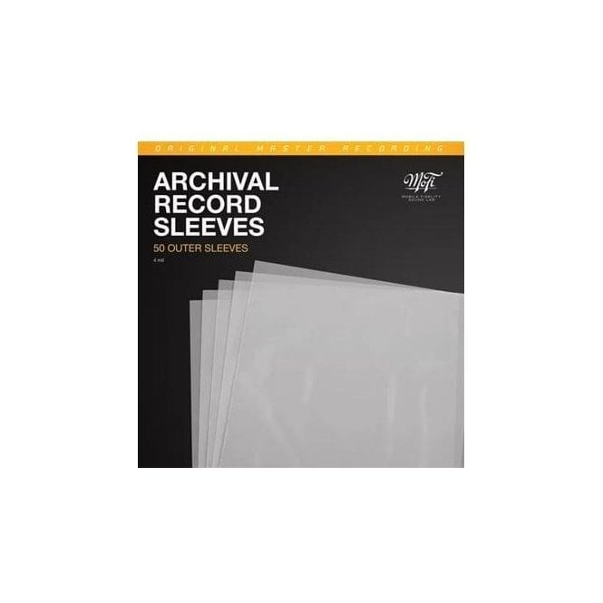 Mobile Fidelity Archival Record Outer Sleeves (Pack of 50)