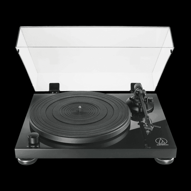 Audio-Technica AT-LPW50PB Manual Drive Belt Turntable