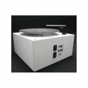 Okki Nokki Record Cleaning Machine in White + Genuine Perspex Lid + 7 inch Arm