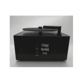 Okki Nokki Record Cleaning Machine in Black with OEM perspex lid