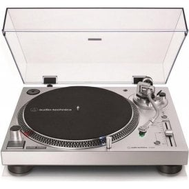 Audio-Technica AT-LP120XUSB Turntable in Silver (Graded Manufacturer Return)